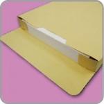 角2マチ付き(函貼)封筒印刷の画像